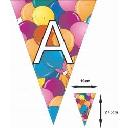 Banderin guirnalda cumpleaños letras