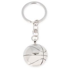 Llavero metal balon baloncesto